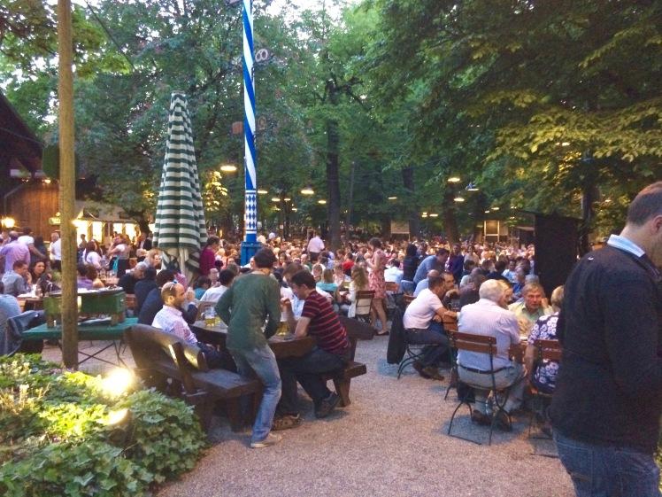 Augustiner Keller Beer Garden