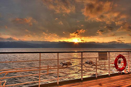 cruise-ship-deck-sunset