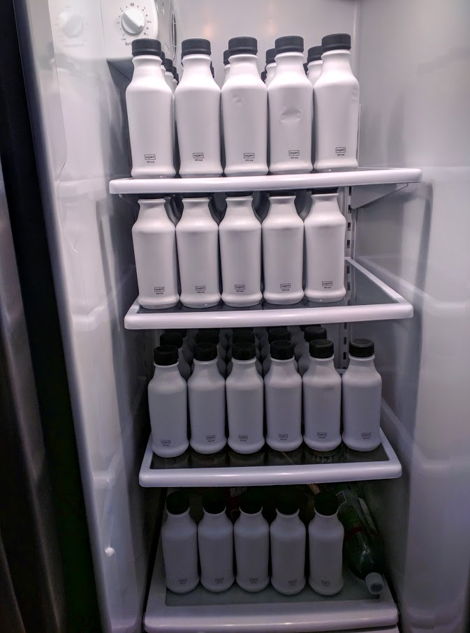 Soylent fridge